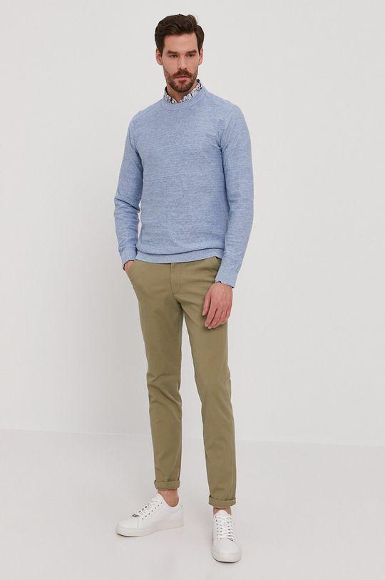 Selected - Sweter jasny niebieski
