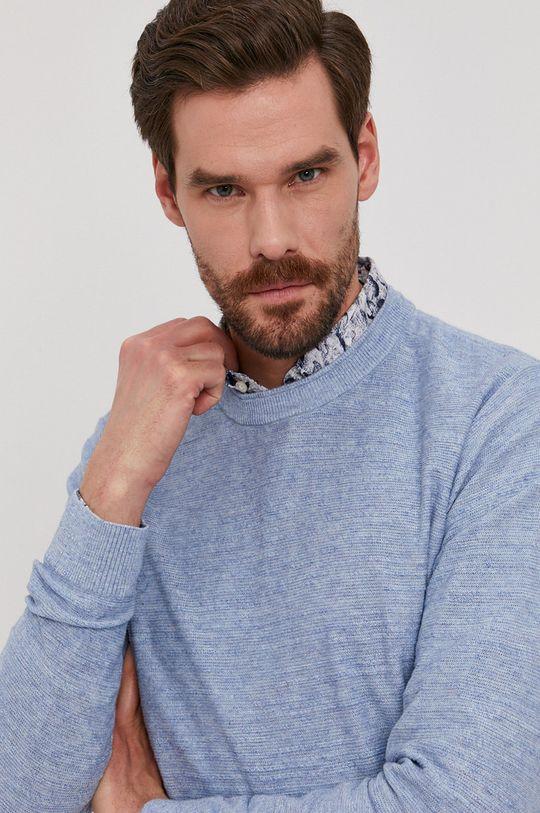 jasny niebieski Selected - Sweter