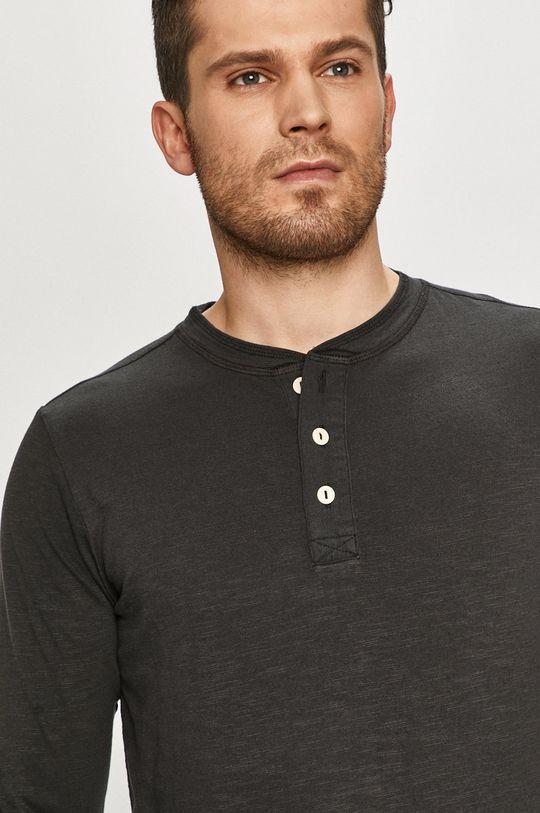 černá Selected - Tričko s dlouhým rukávem