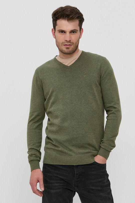 verde Tom Tailor - Pulover De bărbați