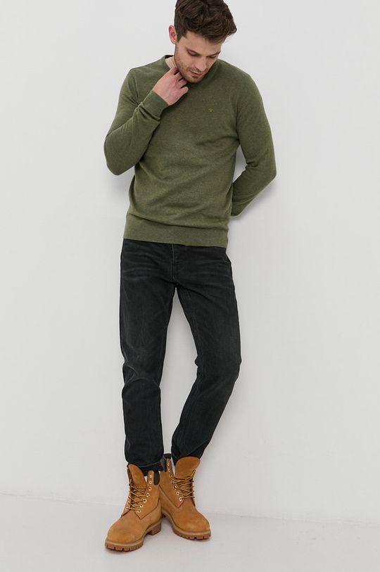 Tom Tailor - Pulover verde