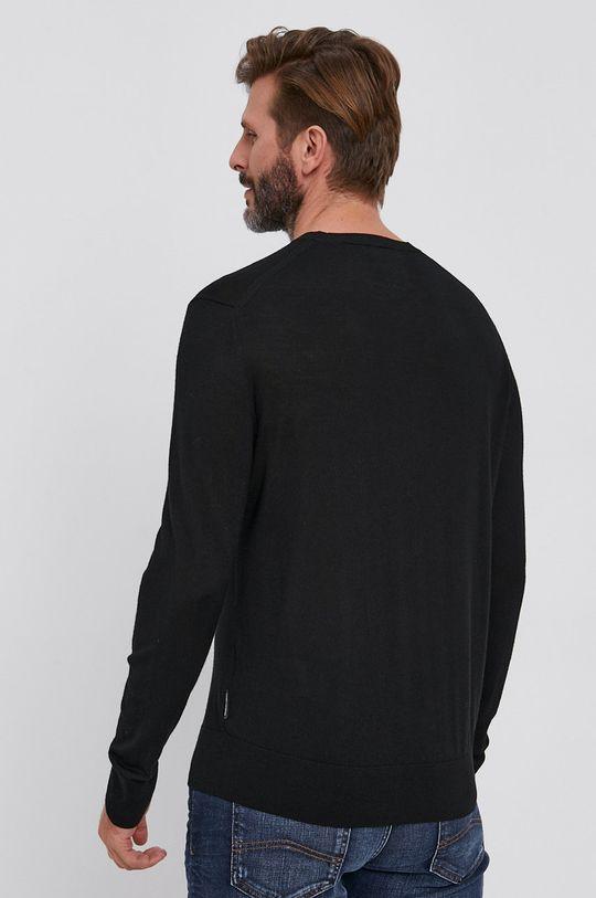 Armani Exchange - Sweter wełniany 100 % Wełna dziewicza