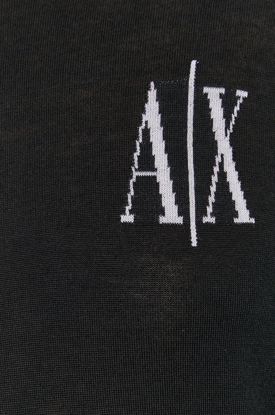 Armani Exchange - Sweter wełniany