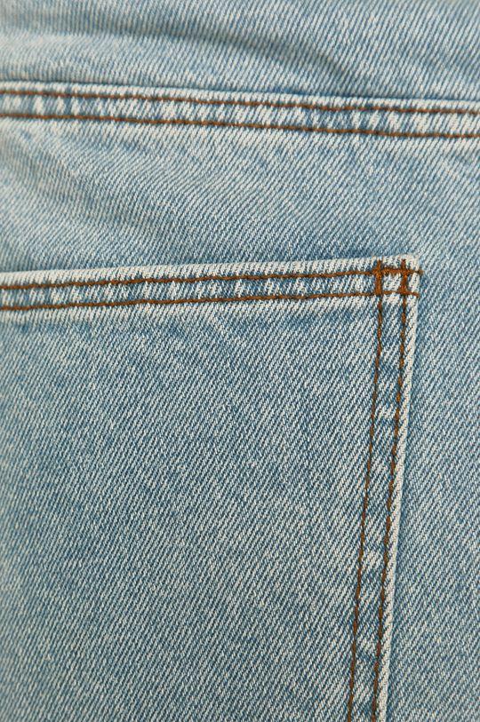 modrá Noisy May - Rifľové krátke nohavice