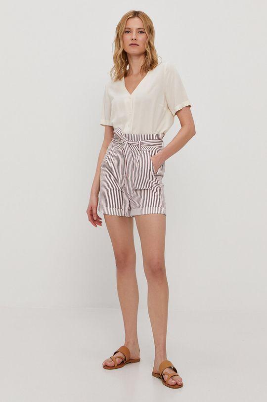 Vero Moda - Szorty biały