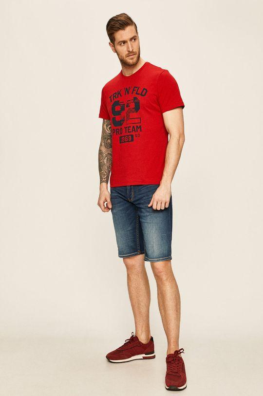 s. Oliver - Szorty jeansowe niebieski