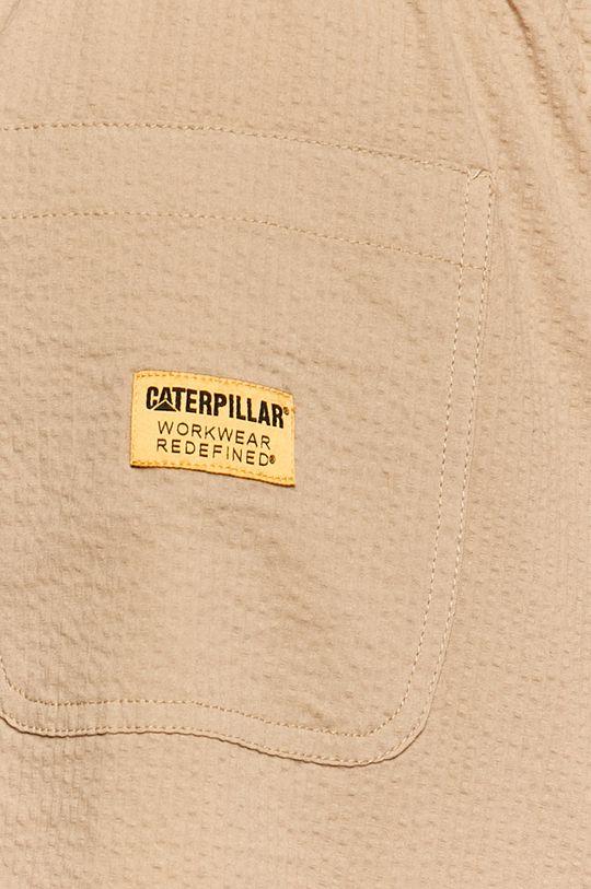 béžová Caterpillar - Kraťasy