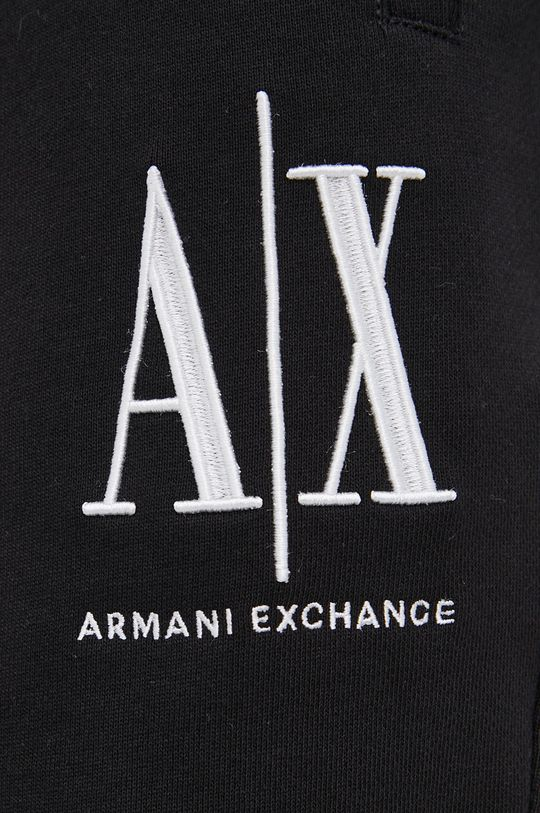 czarny Armani Exchange - Szorty