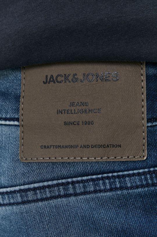 tmavomodrá Jack & Jones - Rifľové krátke nohavice