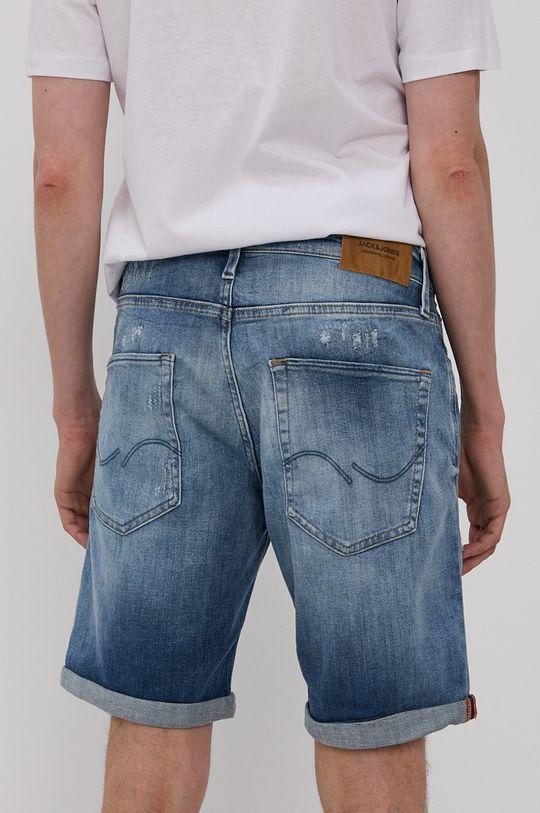 Jack & Jones - Rifľové krátke nohavice  55% Bavlna, 2% Elastan, 39% Lyocell, 4% Polyester