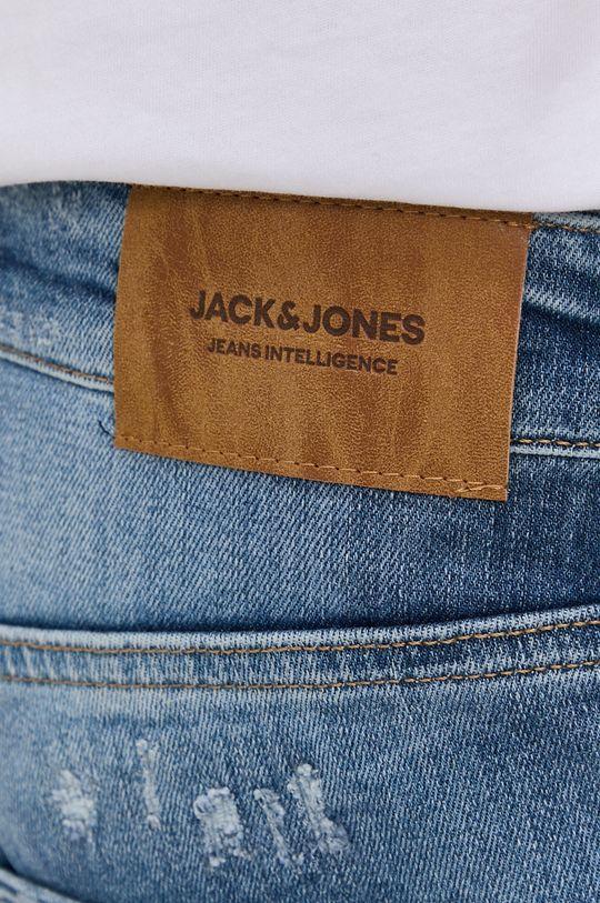 modrá Jack & Jones - Rifľové krátke nohavice