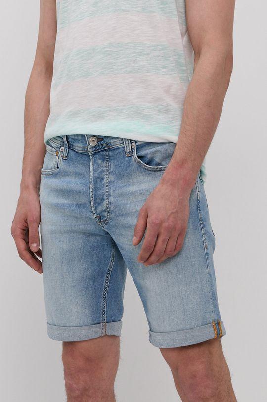 modrá Jack & Jones - Džínové šortky Pánský