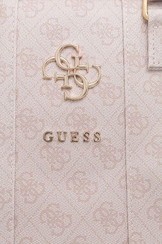 Guess - Torba na laptopa 16 cali różowy
