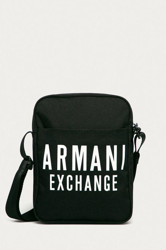 negru Armani Exchange - Borseta De bărbați