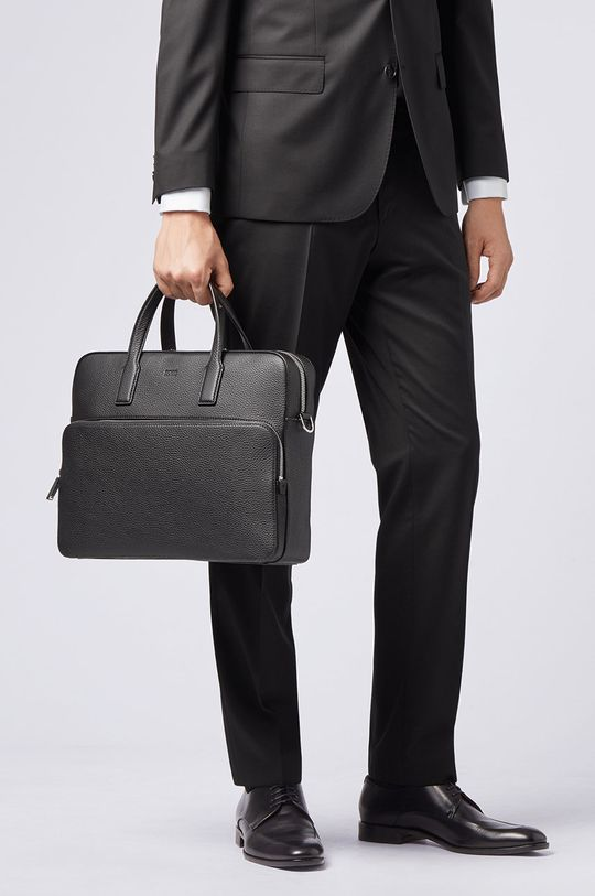 Boss - Kožená taška