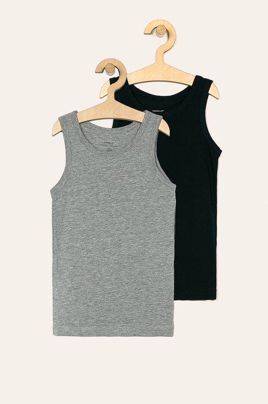 sivá Name it - Detské tričko 110-152 cm (2 pack) Chlapčenský