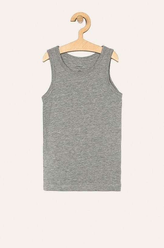 Name it - Detské tričko 110-152 cm (2 pack) sivá