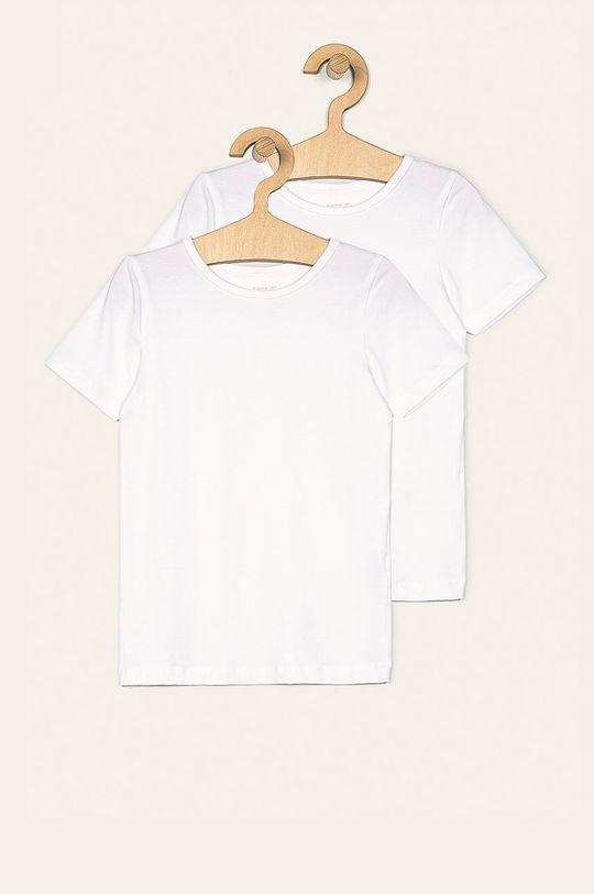 biela Name it - Detské tričko 110-164 cm (2-pack) Chlapčenský
