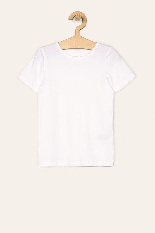 Name it - Detské tričko 110-164 cm (2-pack) biela