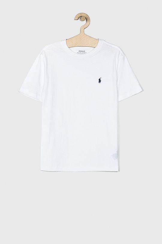 biały Polo Ralph Lauren - T-shirt dziecięcy 134-176 cm Chłopięcy