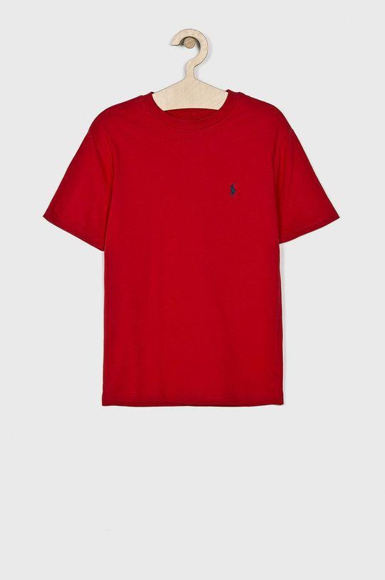 czerwony Polo Ralph Lauren - T-shirt dziecięcy 134-176 cm Chłopięcy