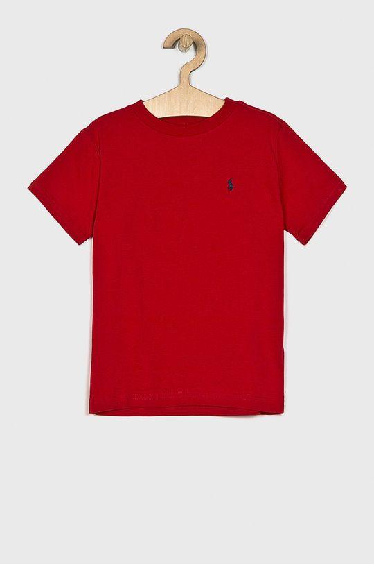 czerwony Polo Ralph Lauren - T-shirt dziecięcy 110-128 cm Chłopięcy