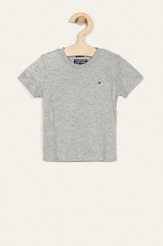 sivá Tommy Hilfiger - Detské tričko 74-176 cm Chlapčenský