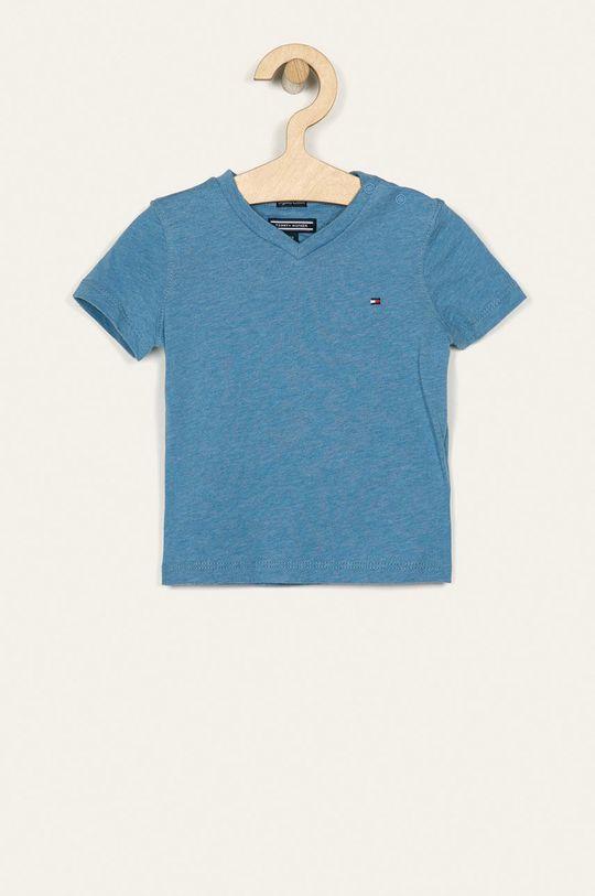 svetlomodrá Tommy Hilfiger - Detské tričko 74-176 cm Chlapčenský