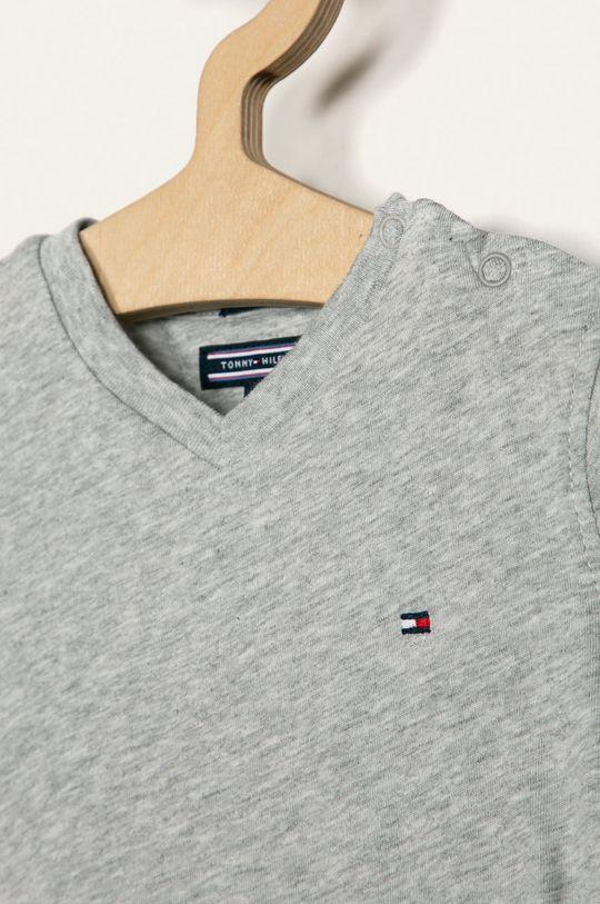 Tommy Hilfiger - Detské tričko 74-176 cm sivá