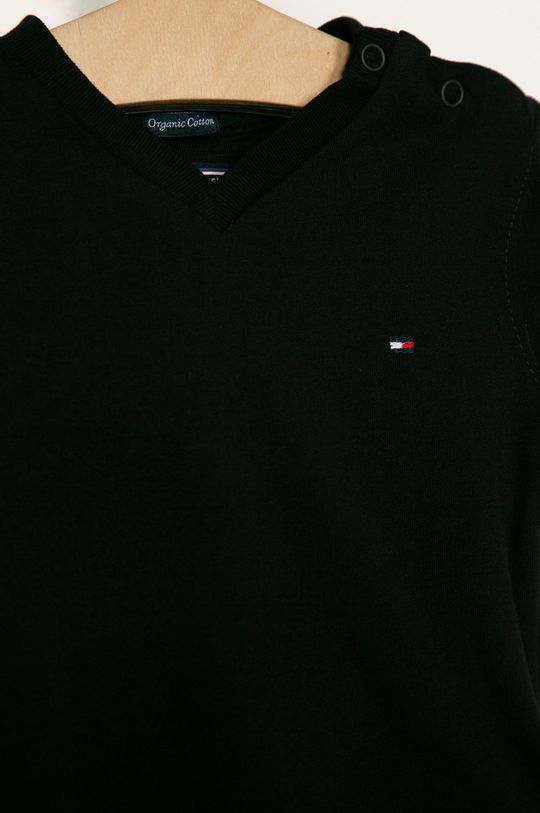 Tommy Hilfiger - Tricou copii 74-176 cm negru