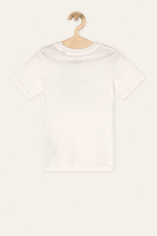 Jack & Jones - Tricou copii 128-176 cm alb