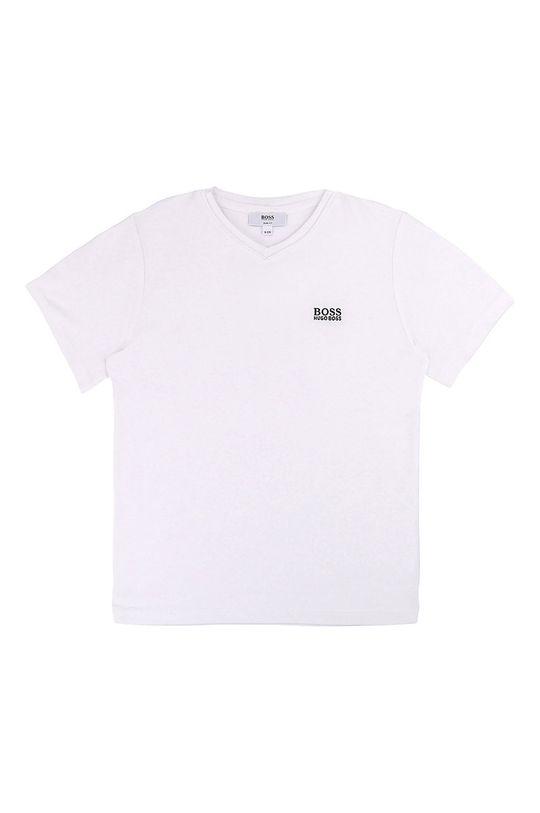 alb Boss - Tricou copii 110-152 cm De băieți
