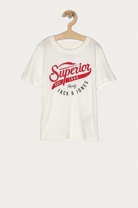 biały Jack & Jones - T-shirt dziecięcy 128-176 cm Chłopięcy