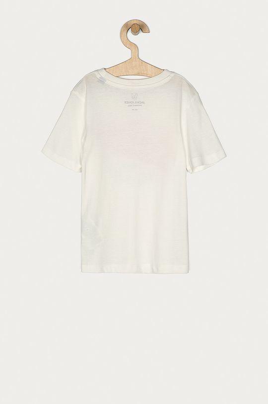 Jack & Jones - T-shirt dziecięcy 128-176 cm biały