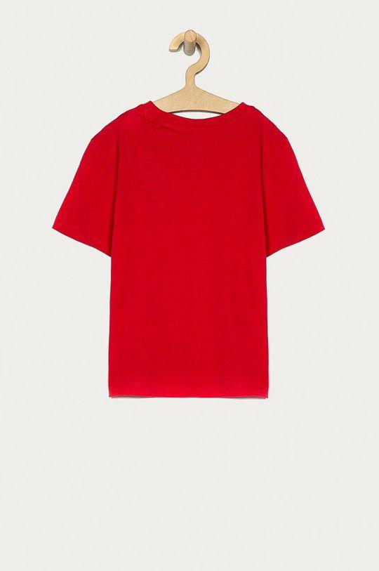 Jack & Jones - Tricou copii 128-176 cm rosu