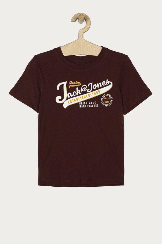 ciemny fioletowy Jack & Jones - T-shirt dziecięcy 128-176 cm Chłopięcy