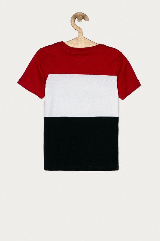 Jack & Jones - T-shirt dziecięcy 128-176 cm czerwony
