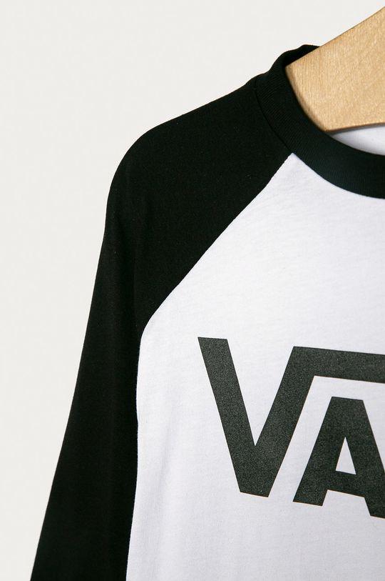 Vans - Longsleeve copii 129-173 cm alb