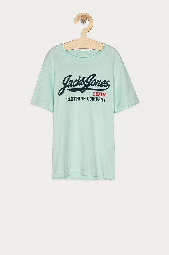 svetlá tyrkysová Jack & Jones - Detské tričko 128-140 cm Chlapčenský