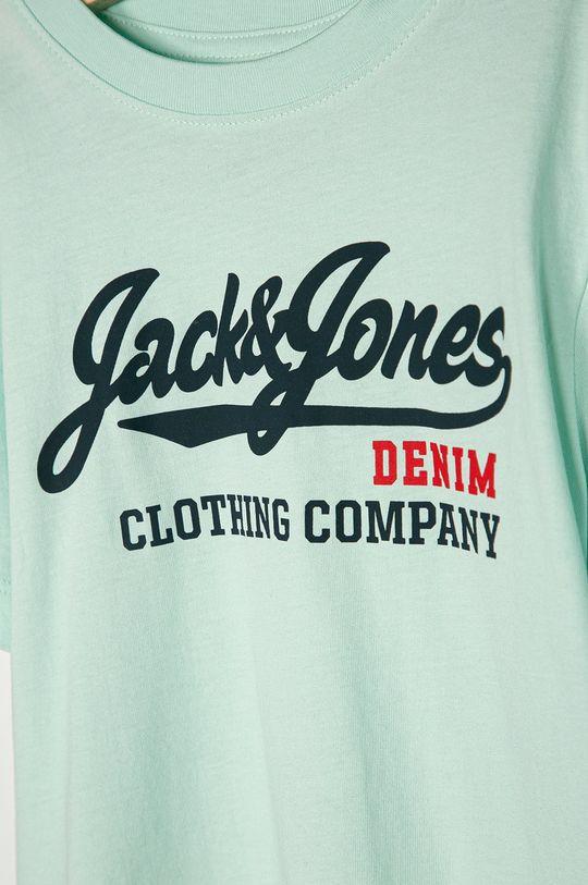 Jack & Jones - Detské tričko 128-140 cm svetlá tyrkysová