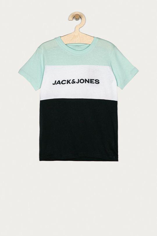 jasny turkusowy Jack & Jones - T-shirt dziecięcy 128-176 cm Chłopięcy