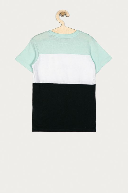 Jack & Jones - T-shirt dziecięcy 128-176 cm jasny turkusowy