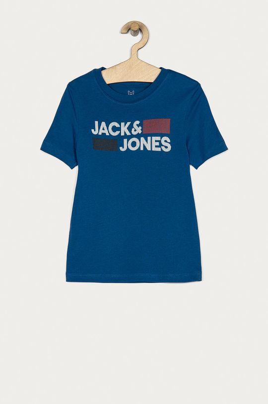 niebieski Jack & Jones - T-shirt dziecięcy 128-176 cm Chłopięcy