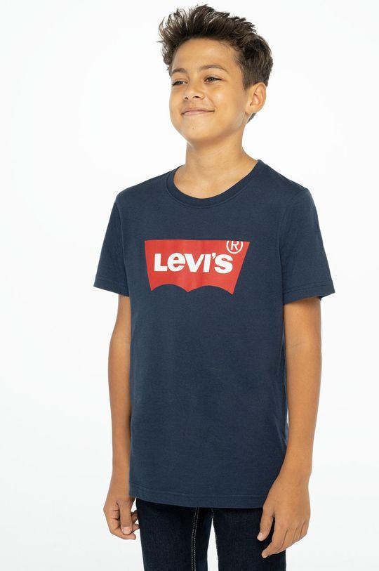 granatowy Levi's - T-shirt dziecięcy Chłopięcy