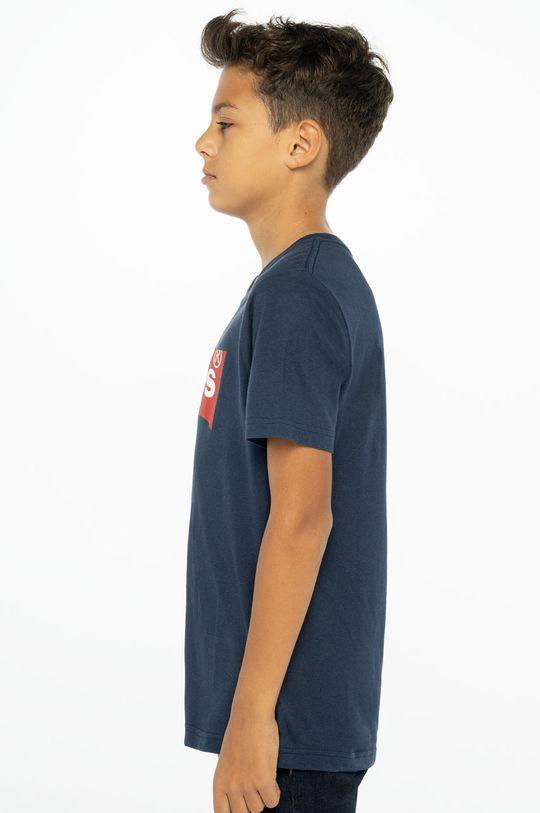 Levi's - T-shirt dziecięcy granatowy