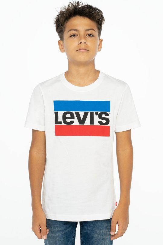 bílá Levi's - Dětské tričko Chlapecký