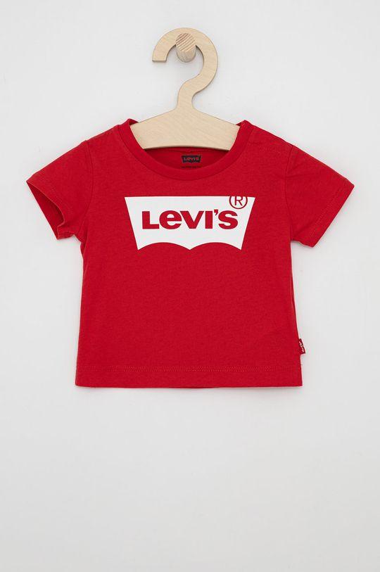 czerwony Levi's - T-shirt dziecięcy Chłopięcy
