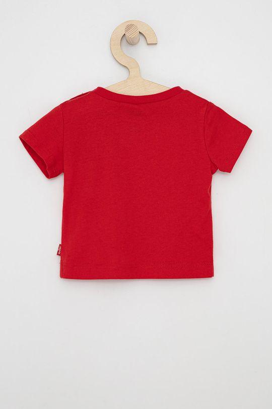 Levi's - T-shirt dziecięcy czerwony