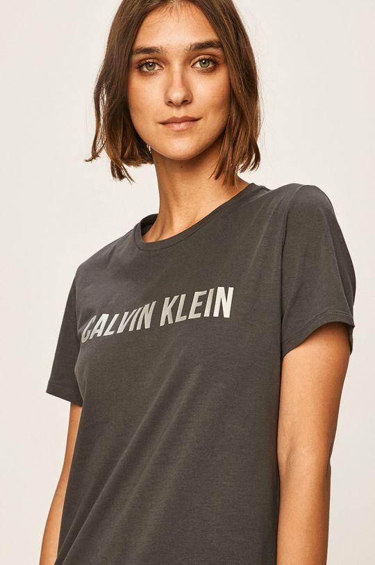 šedá Calvin Klein Performance - Top