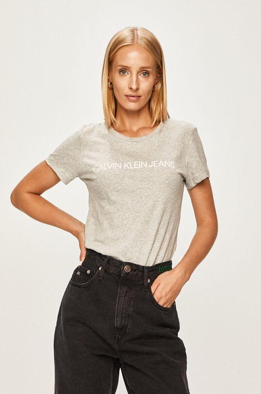 sivá Calvin Klein Jeans - Tričko Dámsky